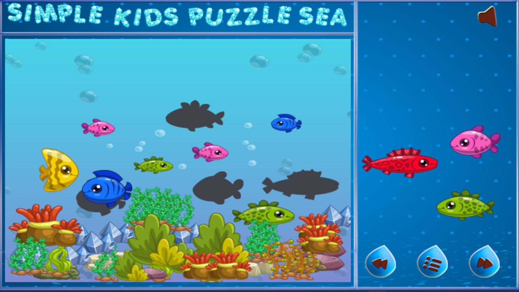 Simple Kids Puzzle Sea - Unity Source Code Screenshot 2