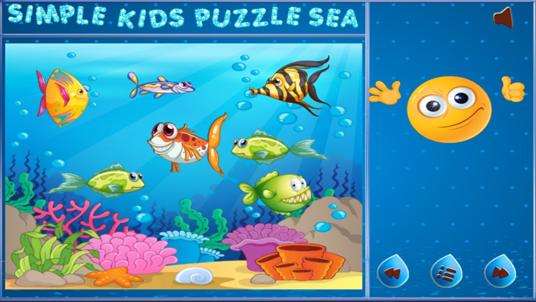 Simple Kids Puzzle Sea - Unity Source Code Screenshot 3