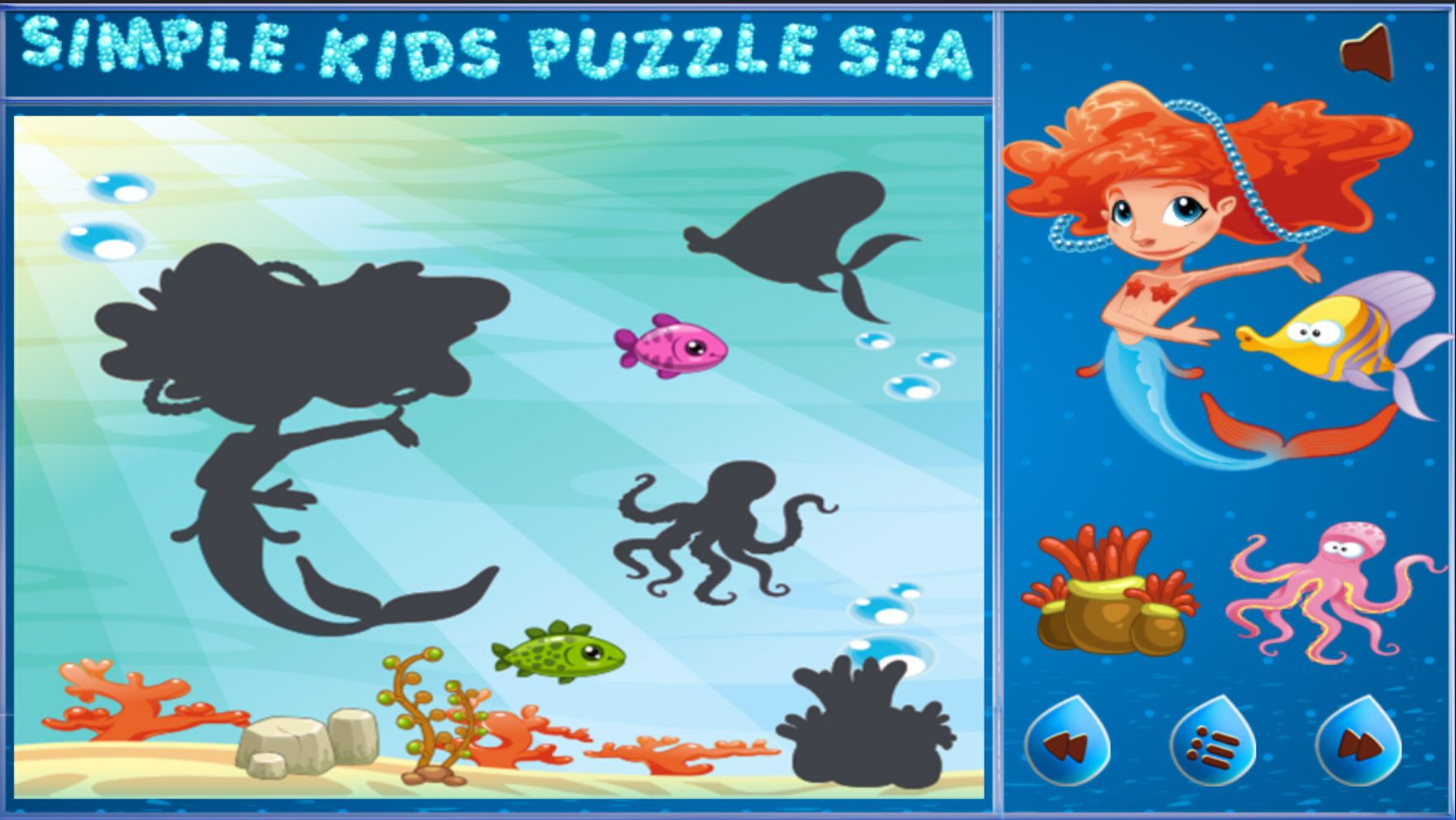 Simple Kids Puzzle Sea - Unity Source Code Screenshot 4