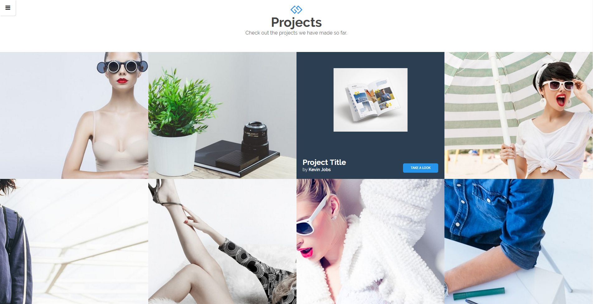 Frosten - Onepage Agency HTML5 Theme Screenshot 2