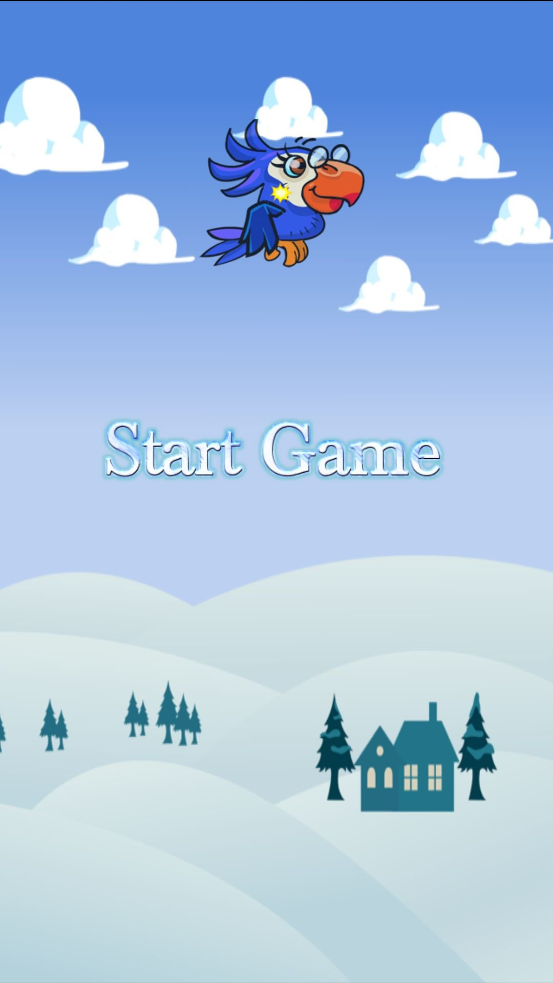 Snow Bird - Android Buildbox Source Code Screenshot 1
