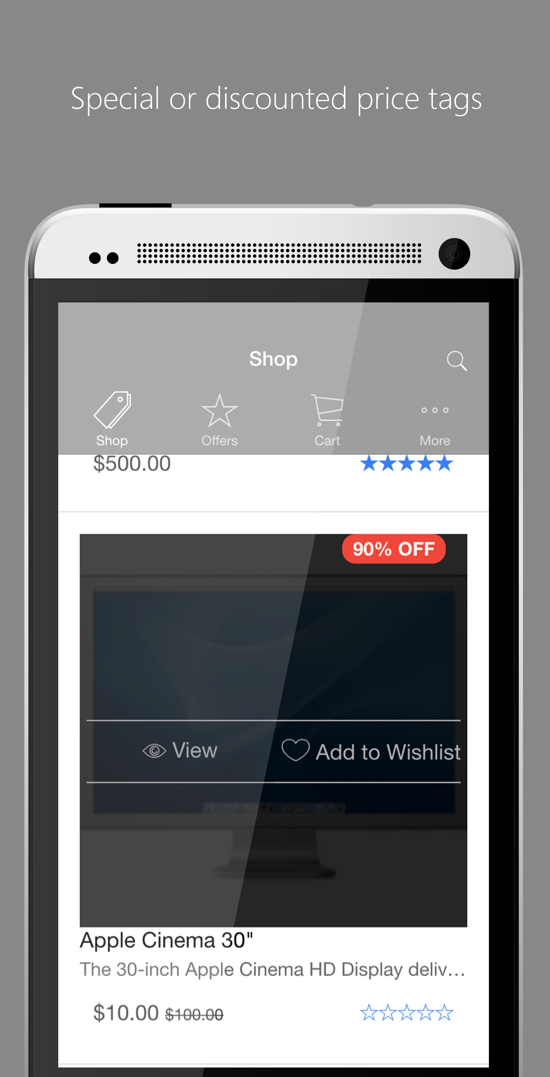 Ionic Opencart Mobile App Template - Lite Version Screenshot 2