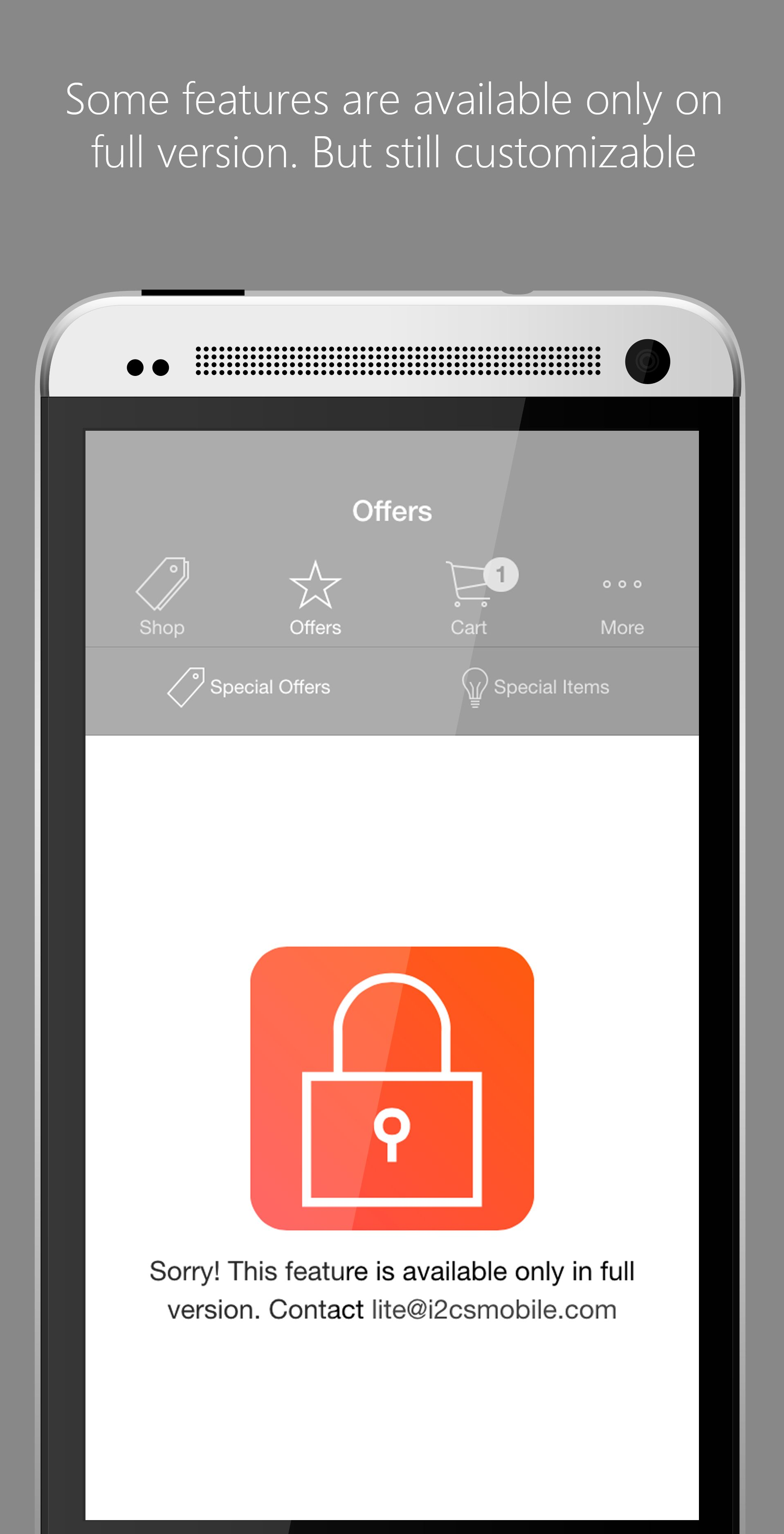Ionic Opencart Mobile App Template - Lite Version Screenshot 6