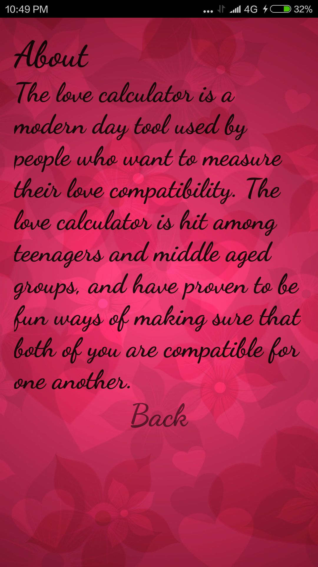 Uncategorized Thelovecalculator love calculator android app source code miscellaneous screenshot 2