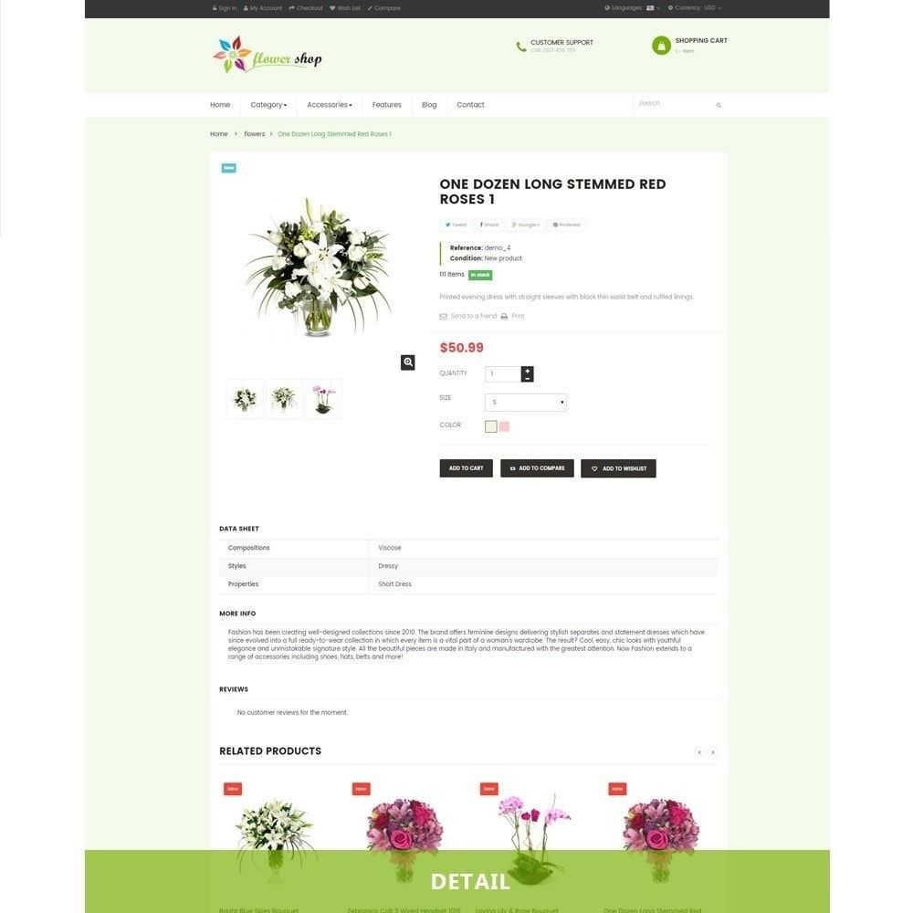 Ap Flower Shop Prestashop Theme Screenshot 2