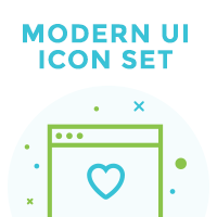 Modern UI Icon Set