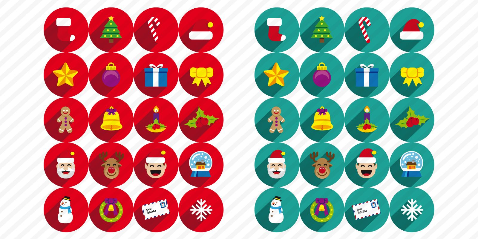 20 Christmas Icons Screenshot 1