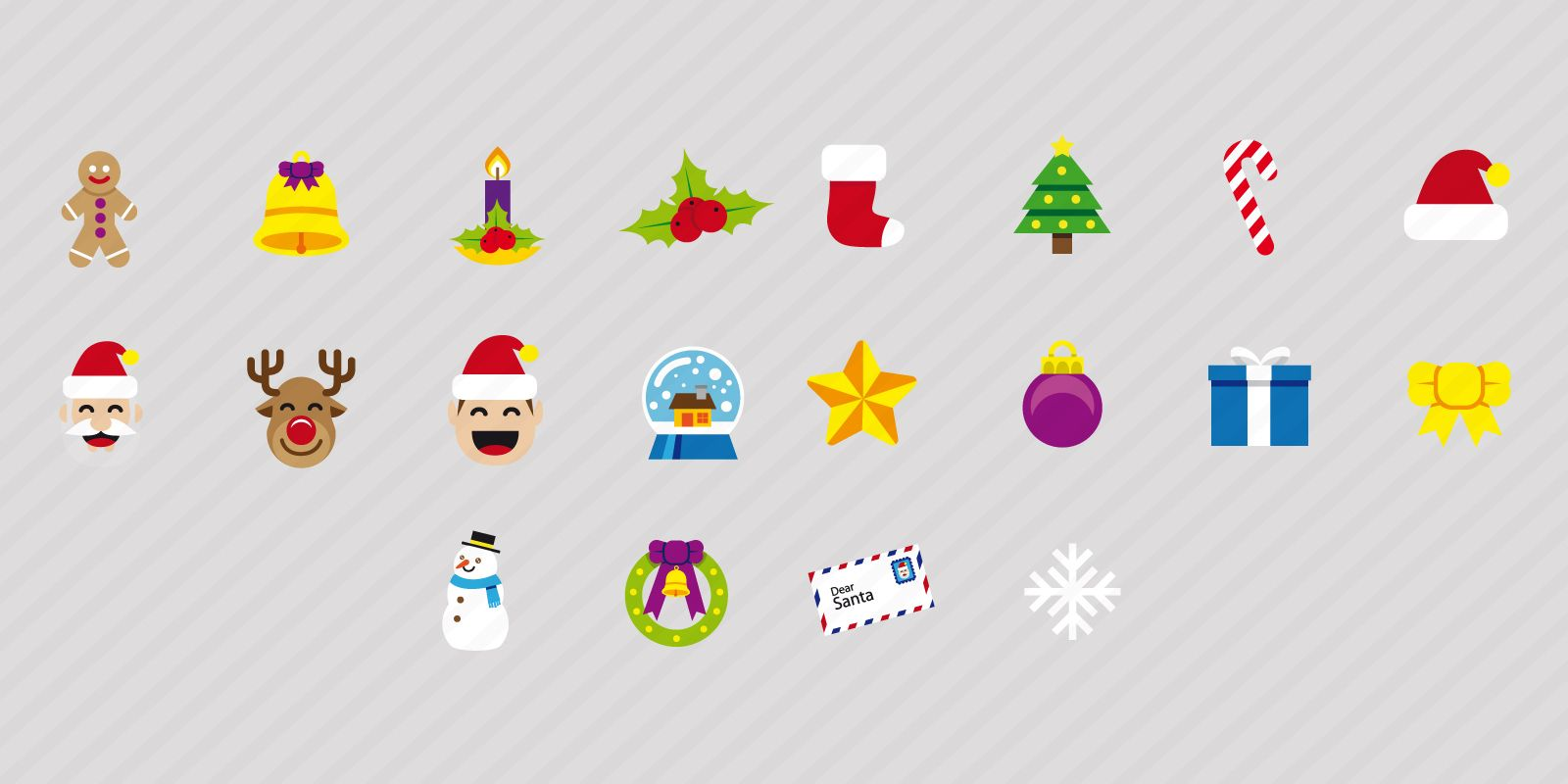 20 Christmas Icons Screenshot 4