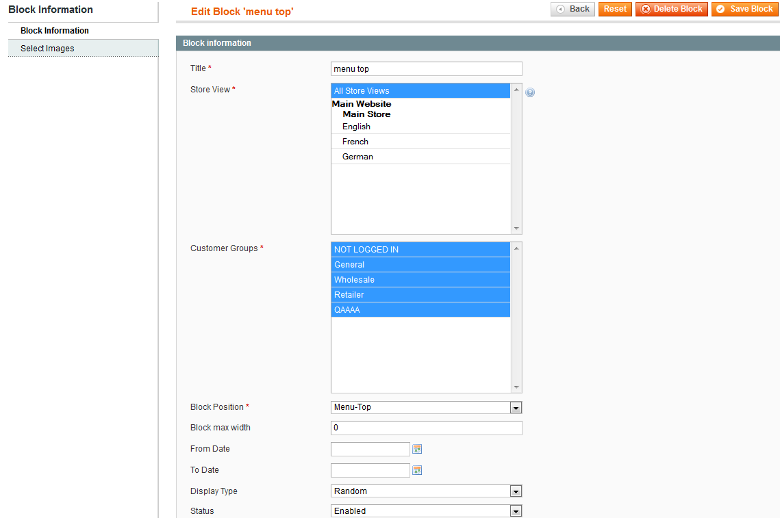 Banner Ads Manager - Magento Extension Screenshot 4