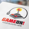 game-on-gaming-logo-template