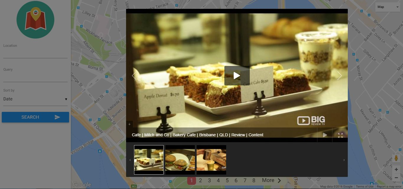VideoMap - Geolocation Video Search Script Screenshot 5