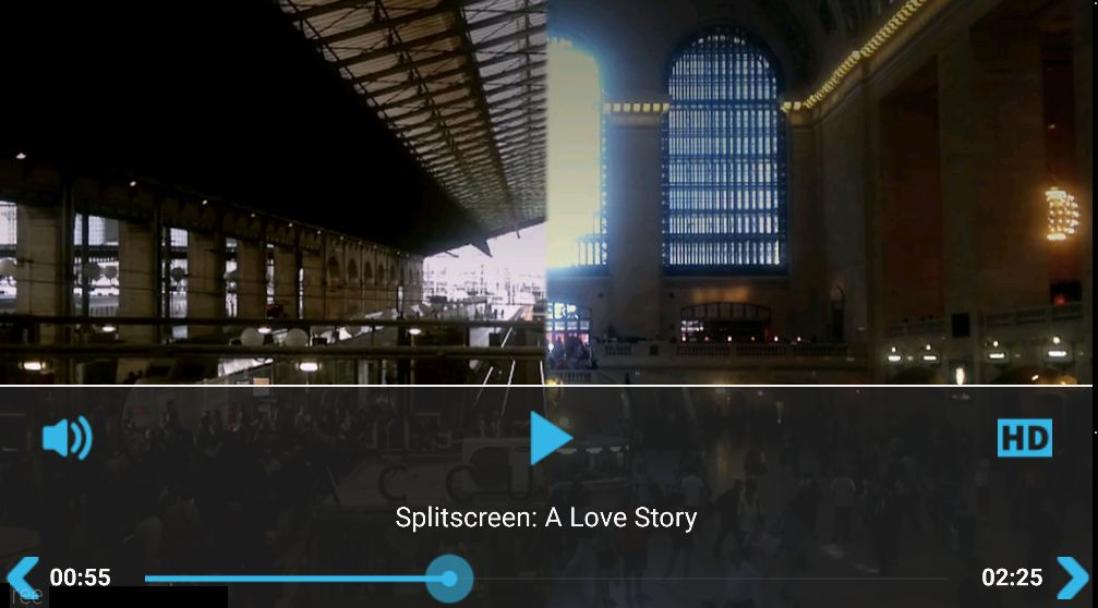 YouTube Vimeo Video Player - Android Source Code Screenshot 1