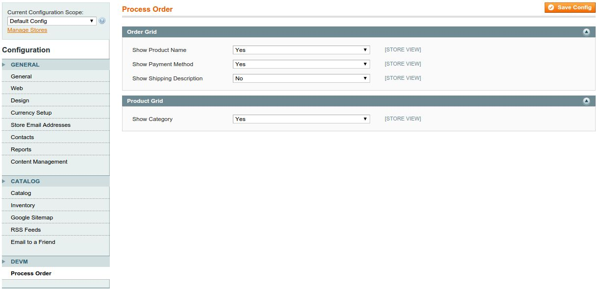 Order Processing - Magento Extension Screenshot 2
