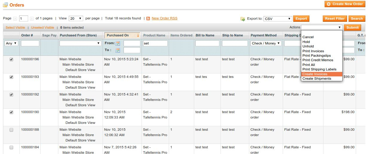 Order Processing - Magento Extension Screenshot 3