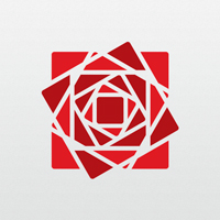 Cubic Rose Logo Template