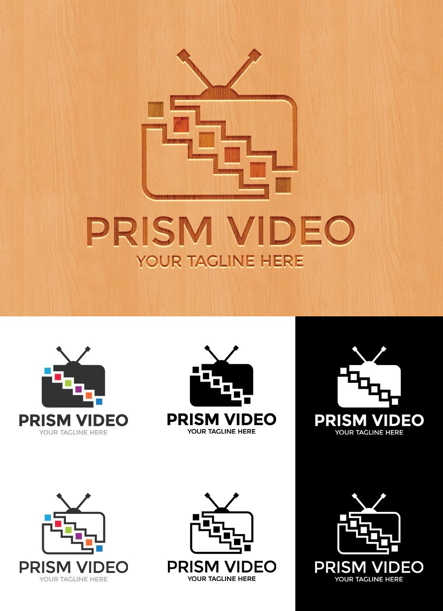Prism Video Logo Template Screenshot 1
