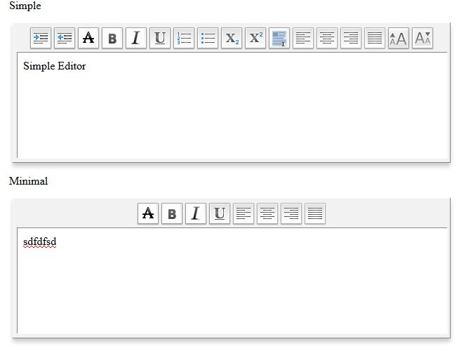 WYSIWYG Editor - Javascript Text Editor Screenshot 1