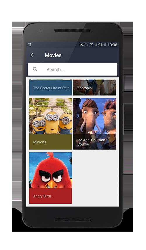 Android Movies App Template Screenshot 2