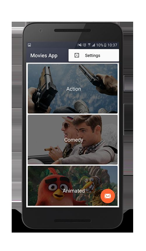 Android Movies App Template Screenshot 3