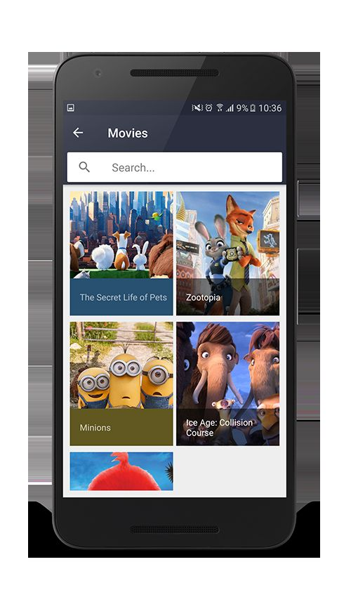 Android Movies App Template Screenshot 4