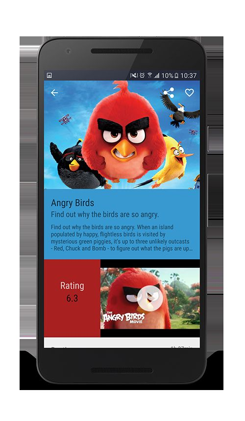 Android Movies App Template Screenshot 5