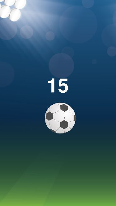 Juggle Ball - iOS Universal Game Source Code Screenshot 6