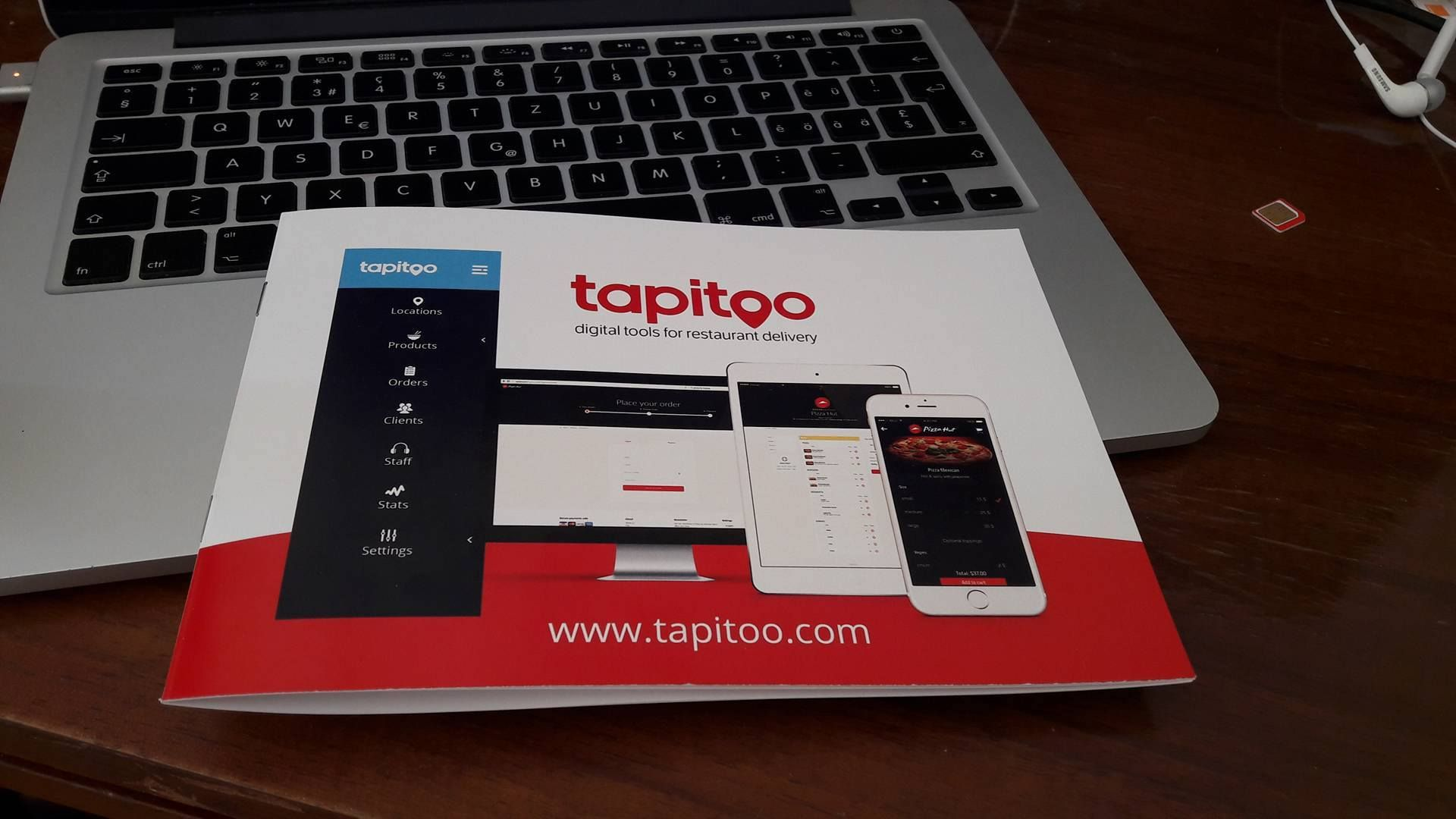 Tapitoo - Restaurant Delivery Order Platform Screenshot 1