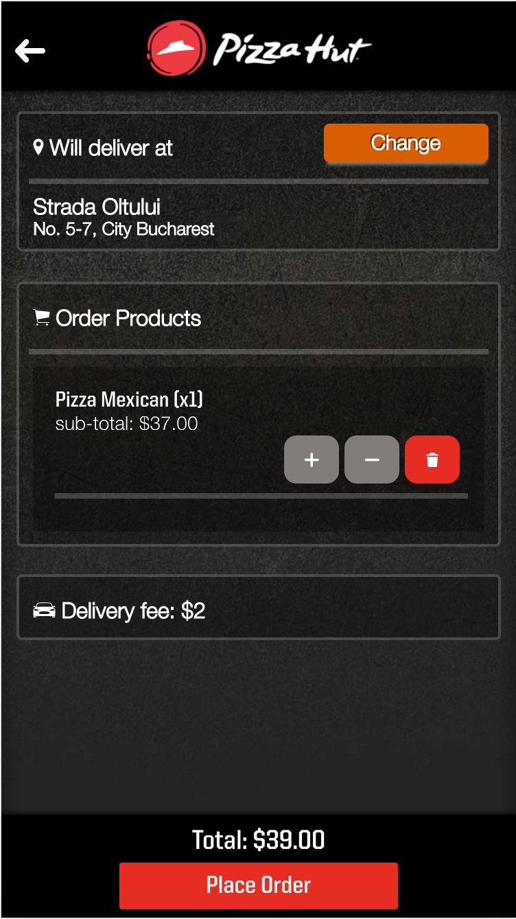 Tapitoo - Restaurant Delivery Order Platform Screenshot 13