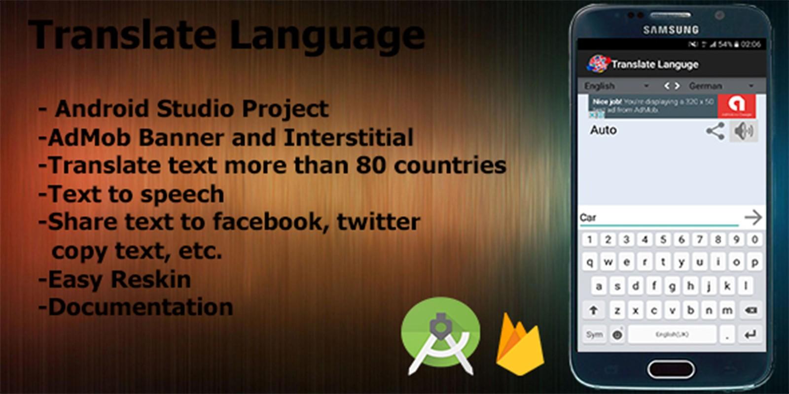 Translator Italian: Translator - Android App Source Code