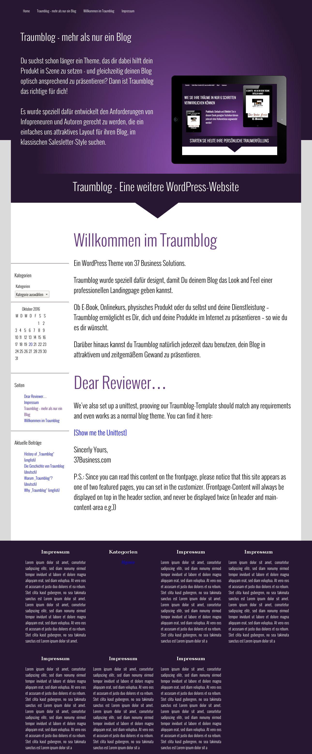 Großartig Vorlage Wordpress Kostenlos Ansprechend Ideen - Entry ...