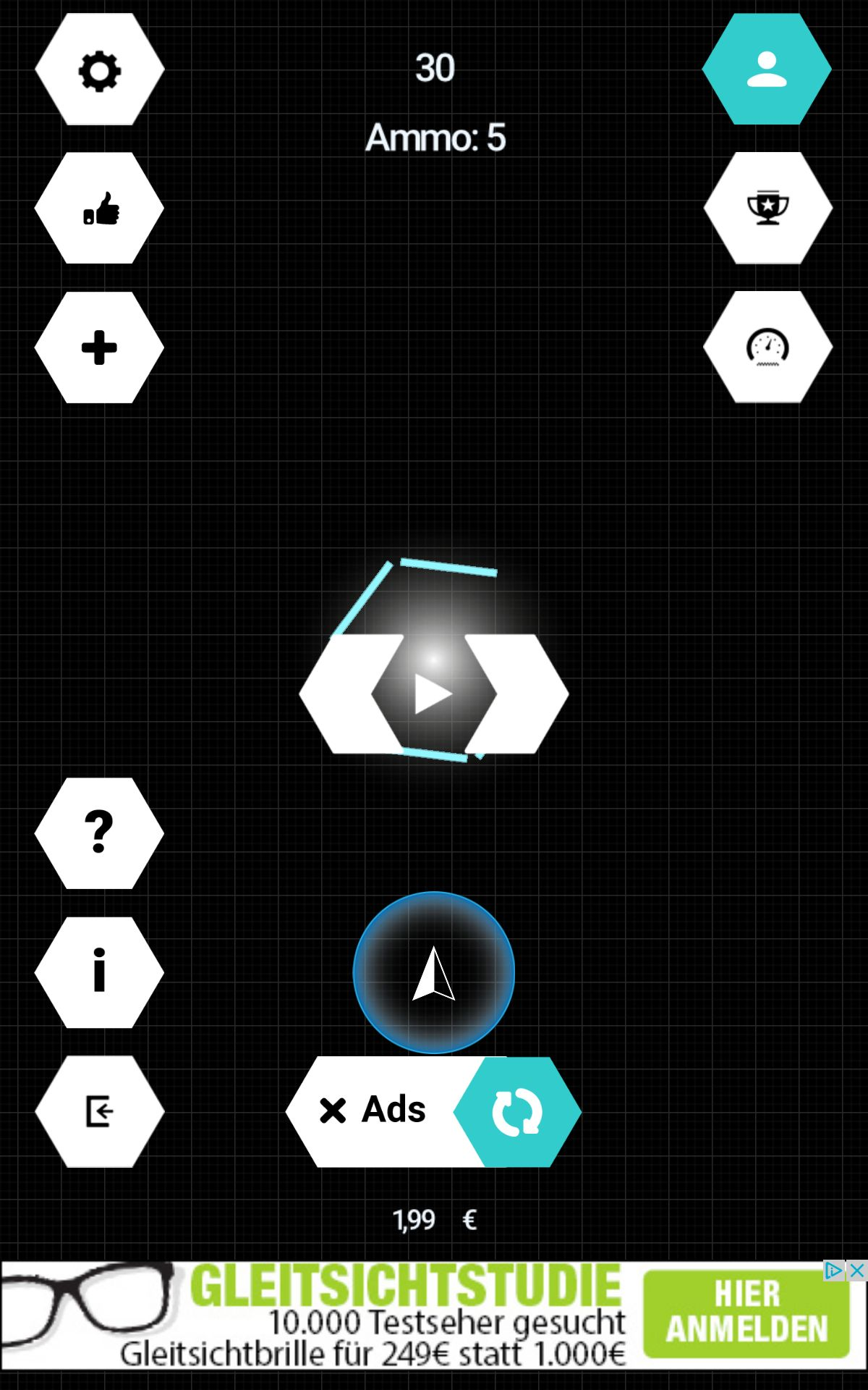 Triangle - Construct 2 Game Template Screenshot 2