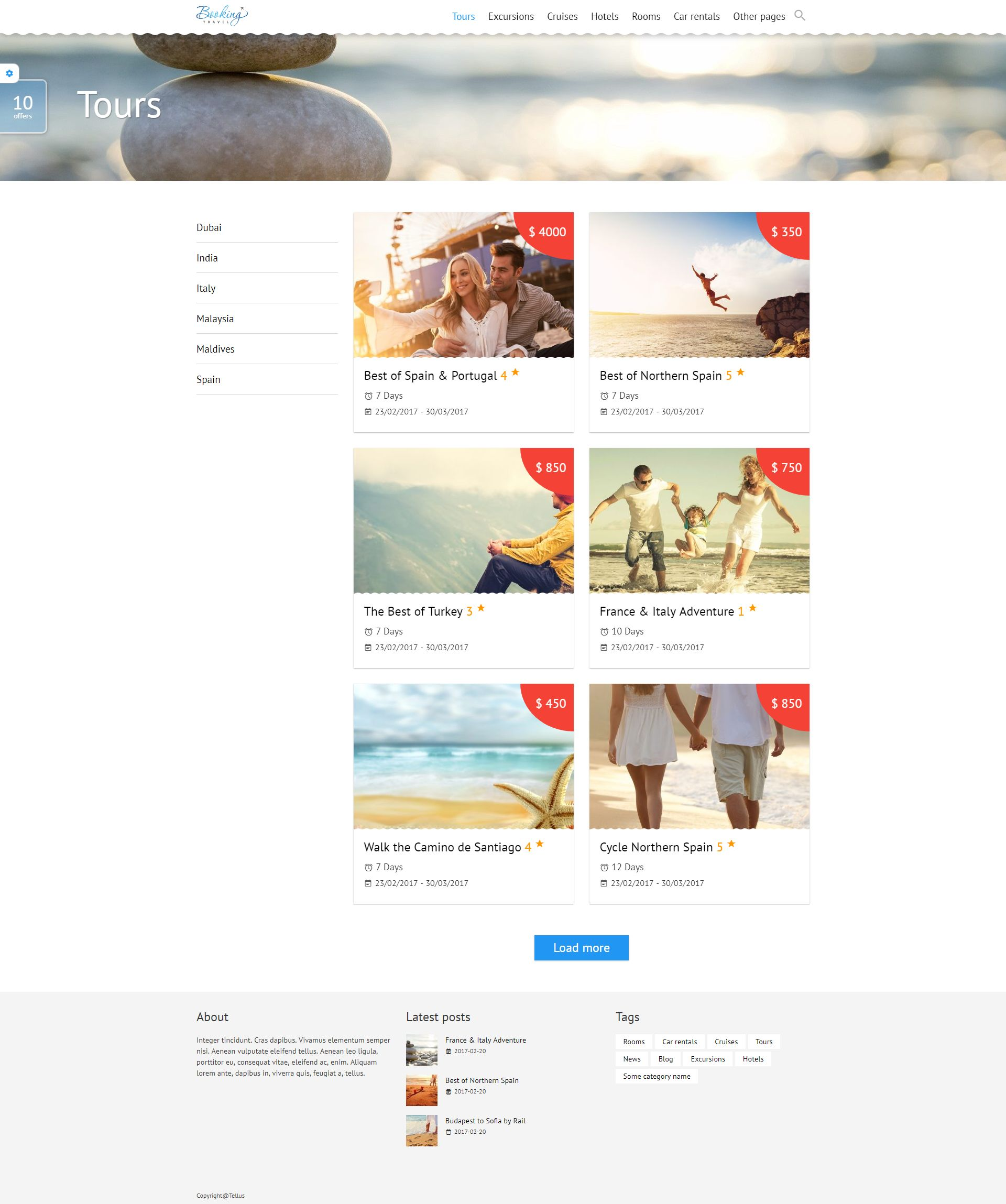 Booking Travel WordPress Theme Screenshot 11