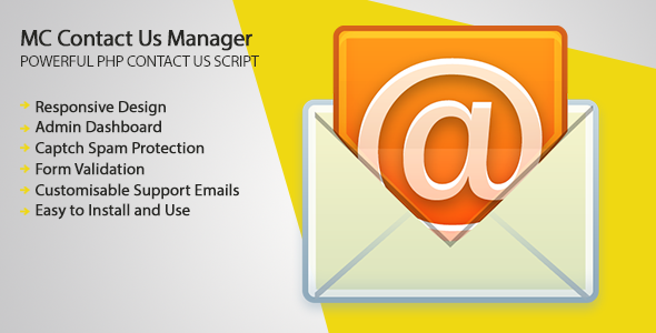MC Contact Us - PHP Script Screenshot 4