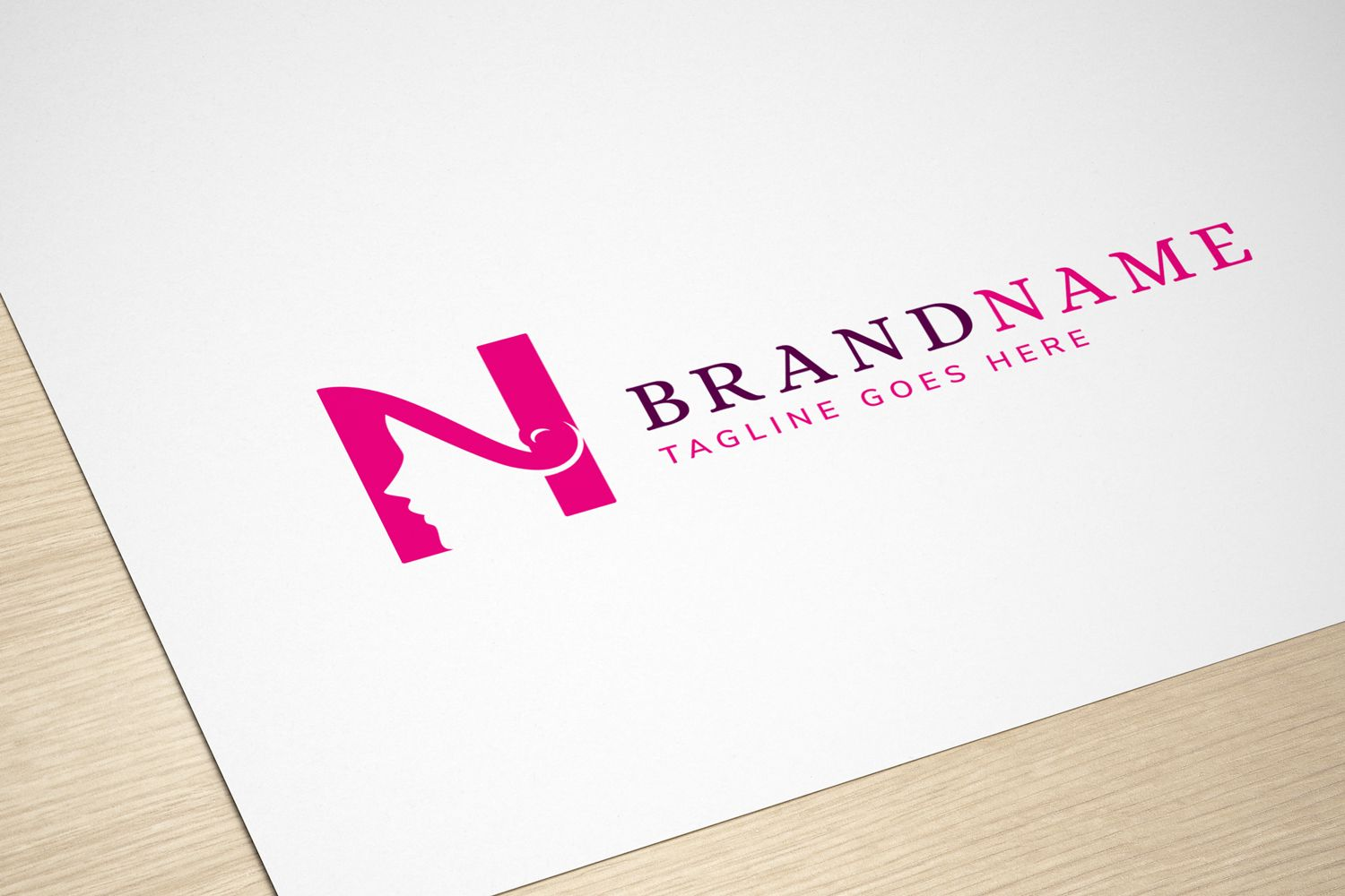 Beauty Letter - Logo Template Screenshot 2