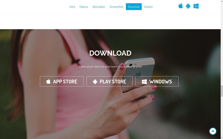 Grape App App Landing Page HTML Template HTML Technology Website - Landing page html template