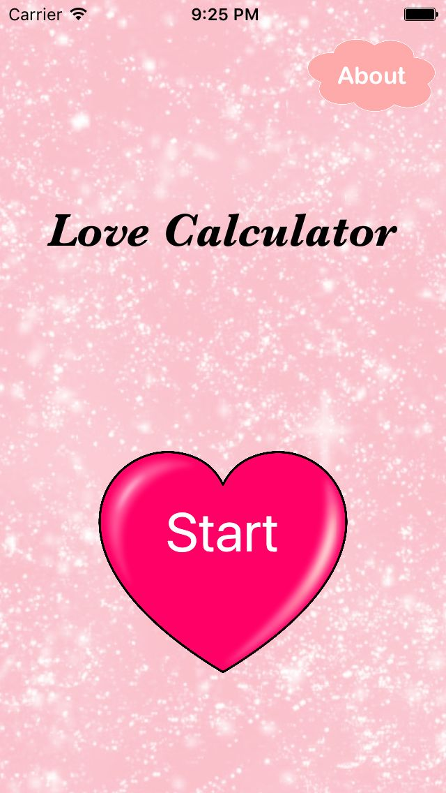 Love Calculator - iOS App Source Code Screenshot 1