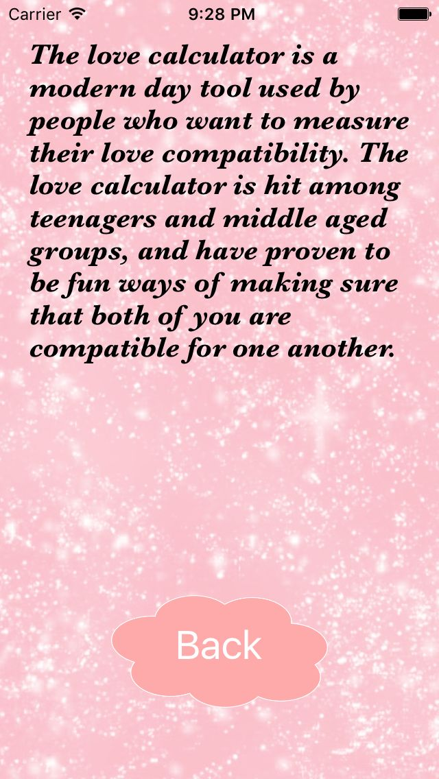 Love Calculator - iOS App Source Code Screenshot 5