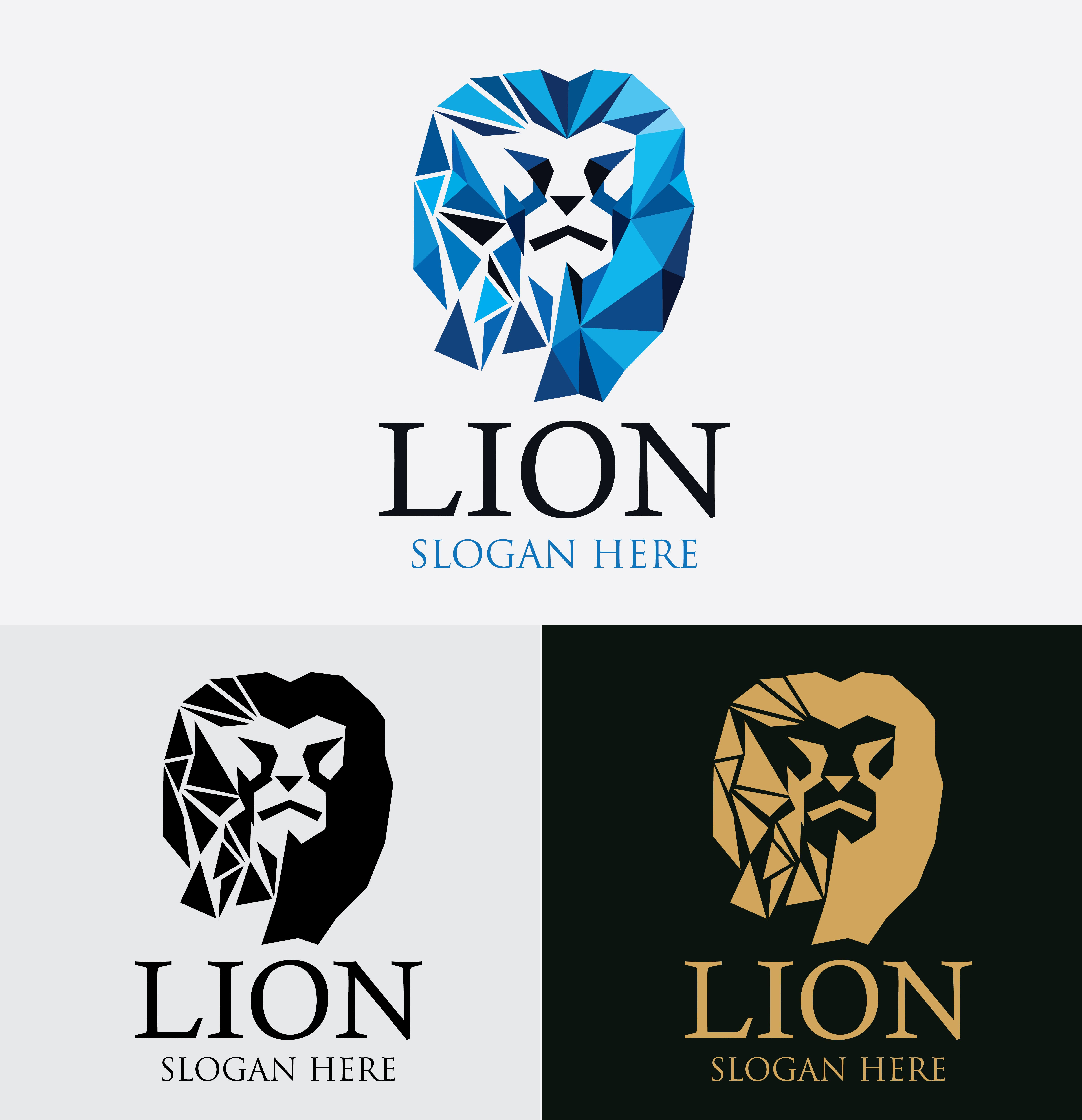 Lion King Logo Template Codester