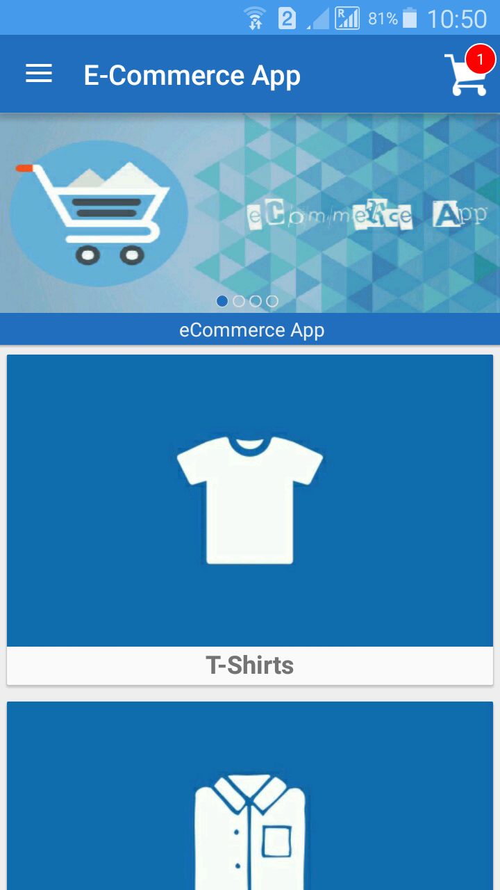E-Commerce App Android Source Code
