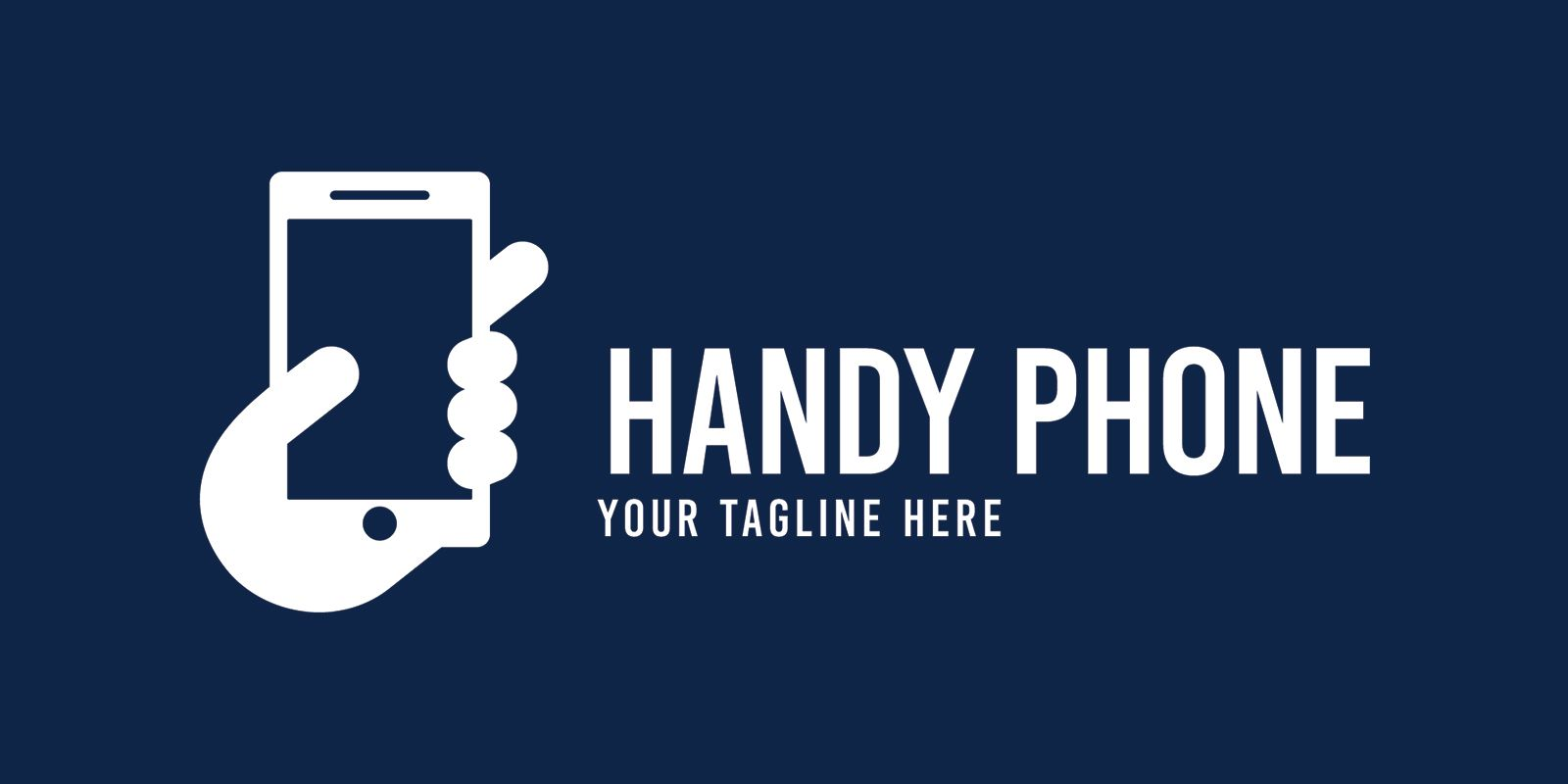 Handy Phone - Logo Template Screenshot 1