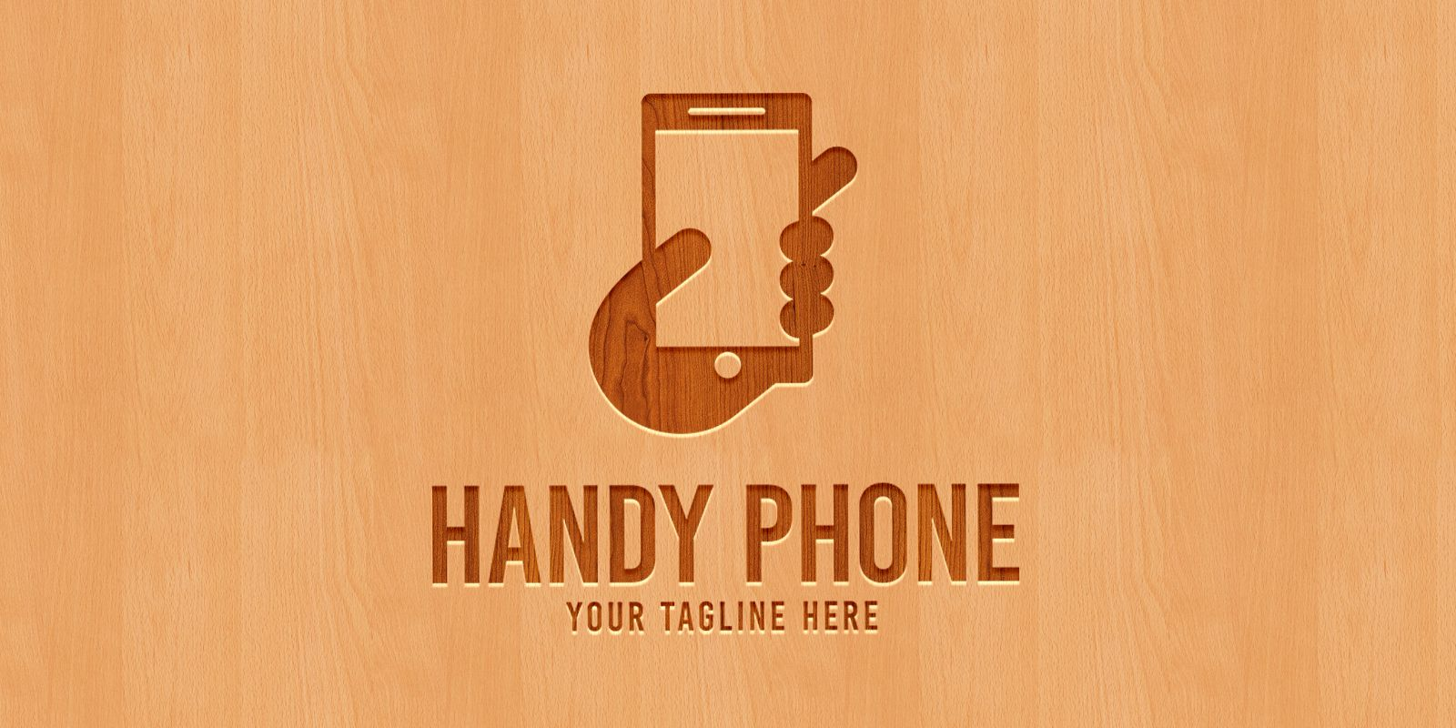 Handy Phone - Logo Template Screenshot 2