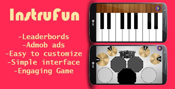 InstruFun - Instrument Android App Source Code Screenshot 1