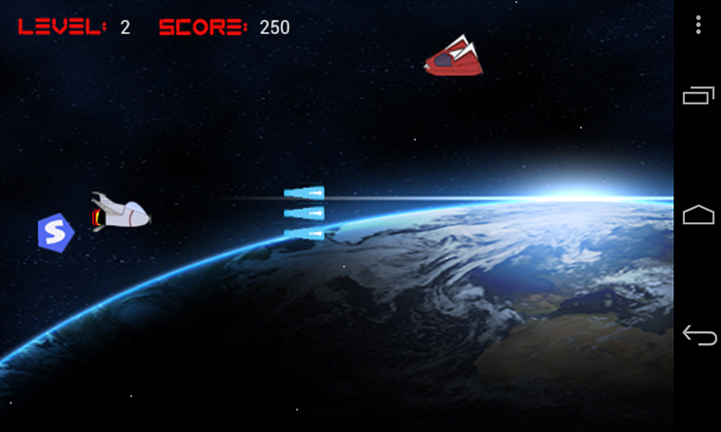 Battle for Earth - Android Game Source Code Screenshot 2