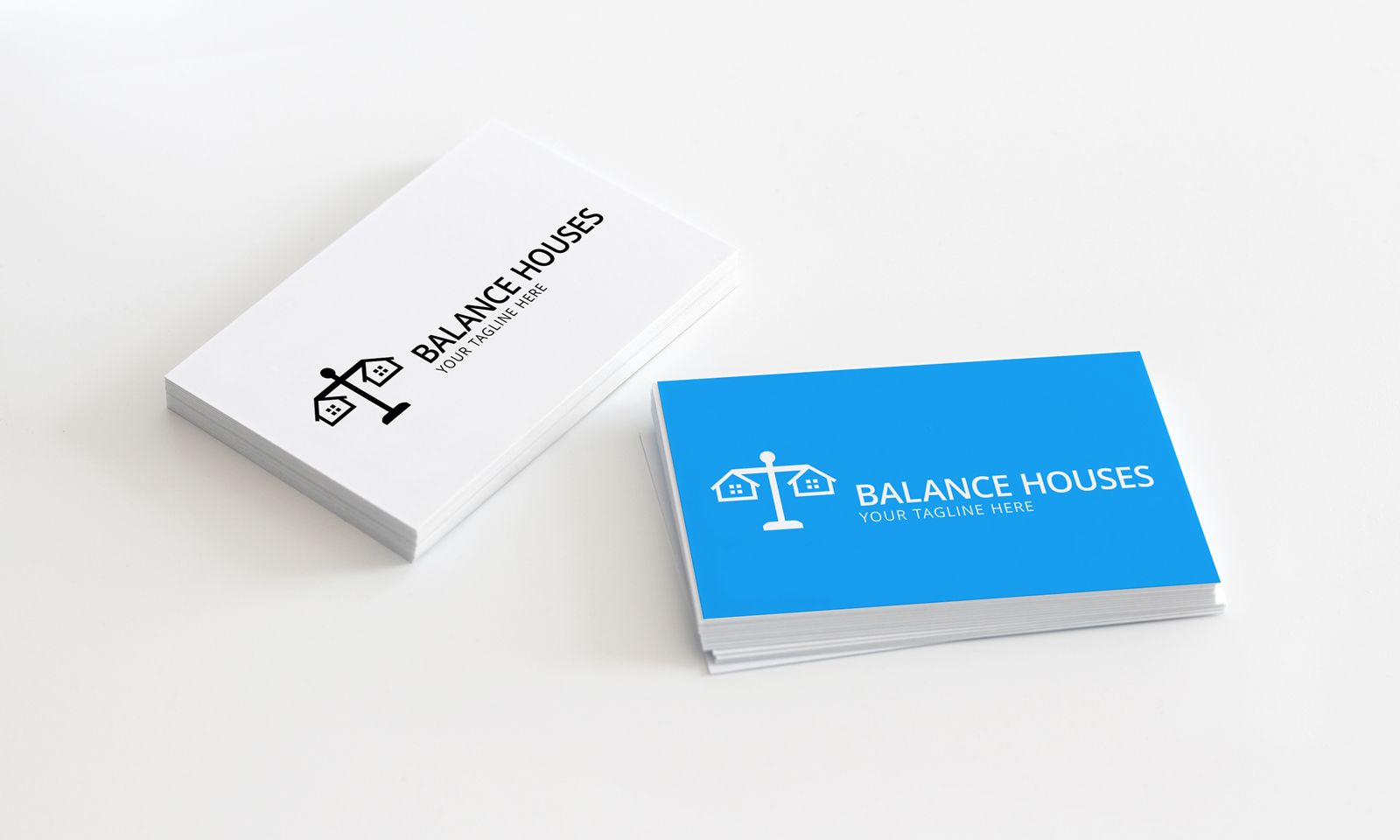 Balance Houses - Logo Template Screenshot 2