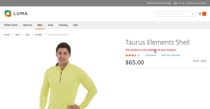 Geo Location Based Product Price - Magento Extensi Screenshot 1
