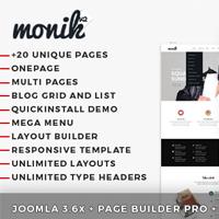 Monica - Multi-Purpose Joomla Template