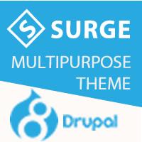 Surge - Multipurpose Responsive Drupal Theme