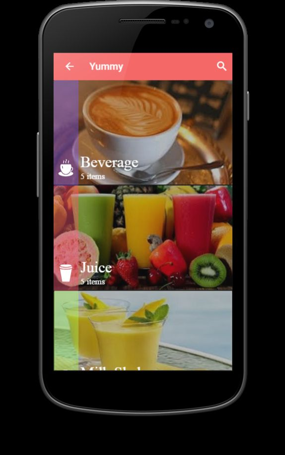 Restaurant Menu - Ionic Theme Screenshot 2