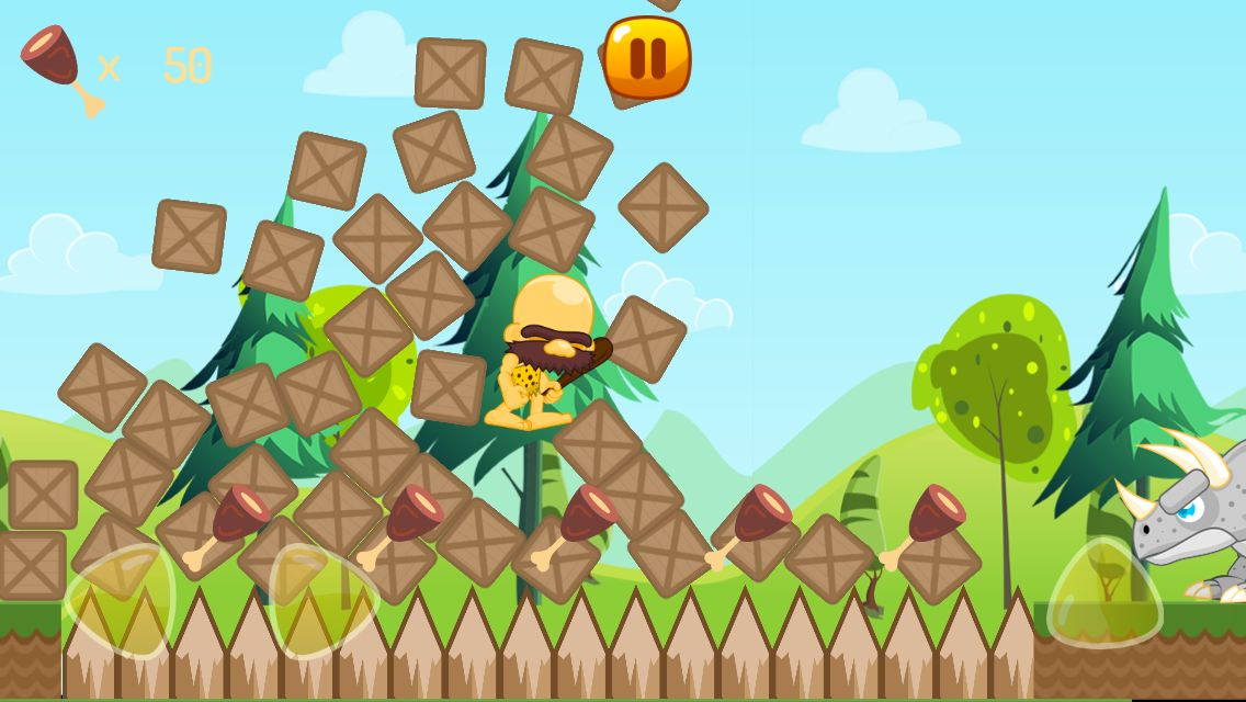 Caveman World - Android Game Template Screenshot 4