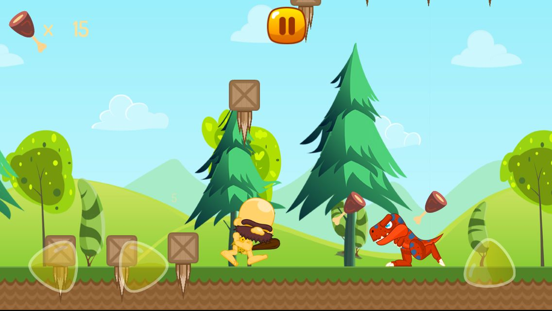 Caveman World - Android Game Template Screenshot 5